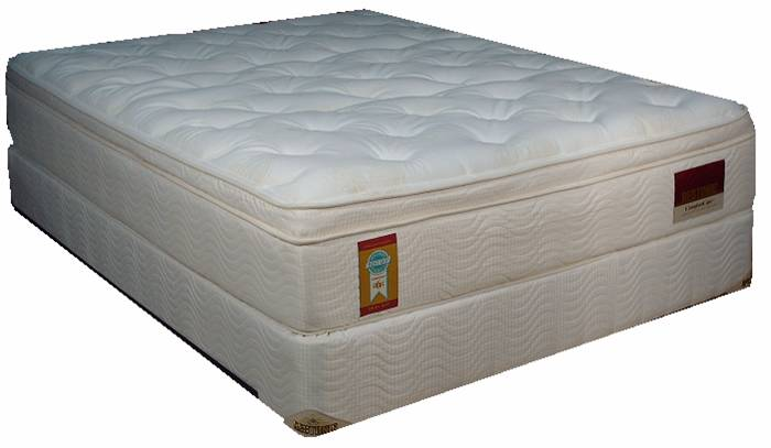 "14"" Innerspring Mattress w/ Latex and Foundation"
