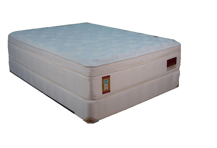 "15"" Innerspring Mattress w/ Memory Foam, Latex and Foundation"