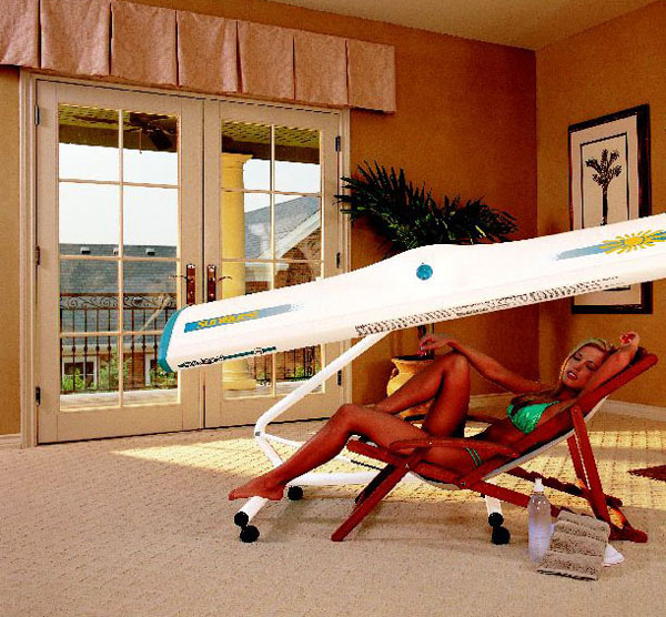 Canopy tanning unit canopy tanning bed sunquest home for Home tanner