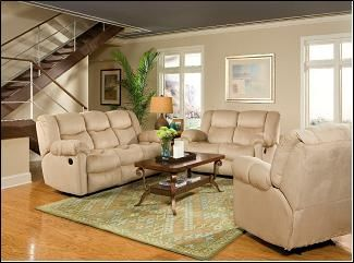 EZ 31800LR Suede reclining living room furniture